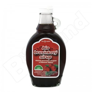 Brusnicový sirup 250ml BIO